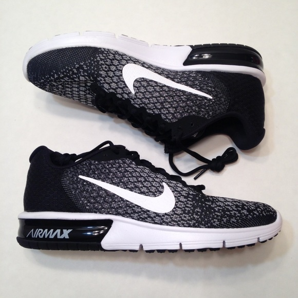 88ecee1c07 Nike Shoes | Womens Air Max Sequent 2 Black White Size 10 | Poshmark
